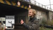 Vlak a tramvaj na Zahradní Město