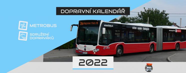 Dopravní kalendář 2022