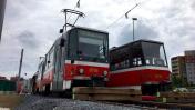 Dožívající tramvaje T6A5