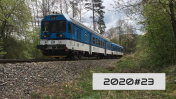 Železniční nový rok a trať na letiště