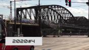 Rostoucí železnice, s výjimkou Železničního mostu