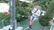 Sedačková lanovka v Zoo Praha