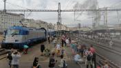 Den železnice na Masaryčce