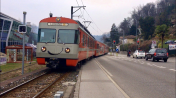 Lanovky ve Švýcarském Lugánu