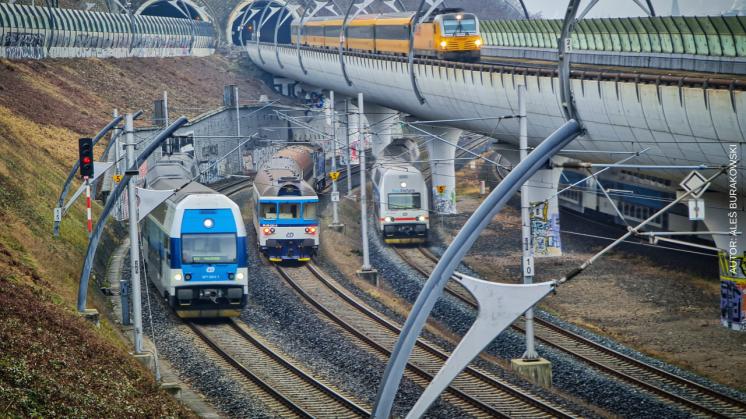Železniční zima